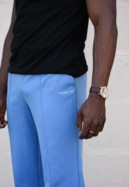 Sky Blue Nylon Track Suit Bottoms