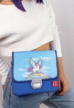 Vintage 'Big Box' Unicorn Kids' Lunchbox / Shoulder Bag