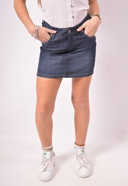Vintage Levi's Denim Skirt Blue
