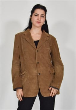 Ralph lauren vintage brown jacket