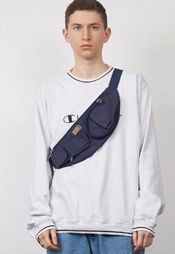 Vintage 90's Iris Sport navy bum bag