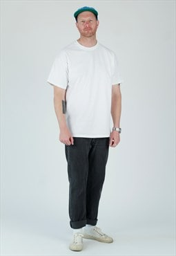 Vintage Levi's 501 Grey Black straight leg DAD jeans Levi