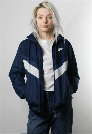 NIKE 1990S WINDBREAKER JACKET, ZIP UP, BOMBER