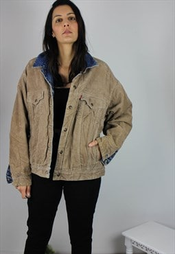 Vintage Levi's Denim & Corduroy 2IN1 REVERSIBLE Jacket