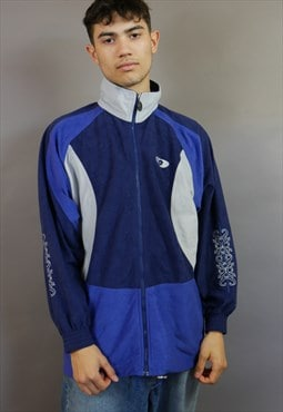 Blue Lotto Track Jacket