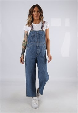 Dungarees BICH REWORKED Denim Wide Short Leg UK 8 (E9ED)