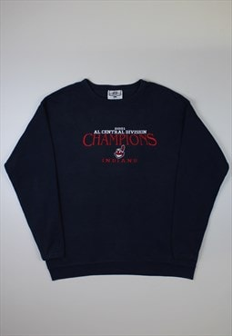 Lee Navy 'Cleveland Indians' Sweatshirt