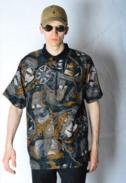 Vintage 90s Abstract Grunge Shirt