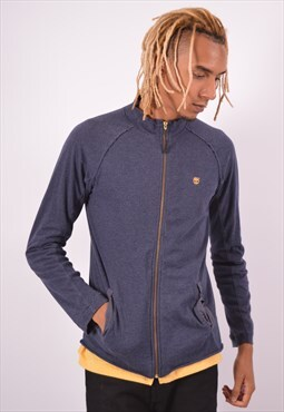 Vintage Timberland Tracksuit Top Jacket Blue