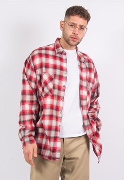Levis Flannel Shirt Red Check
