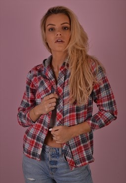 Check Flannel Shirt GRS719