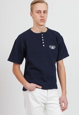 Vintage Navy REPLAY Short Sleeve Top