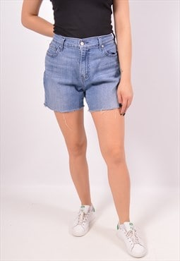 Vintage Levi's 515 Denim Shorts Blue