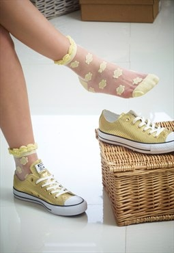 Summer Lemon Queen Socks