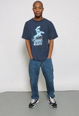 Vintage Stone Island Blue Trousers