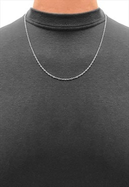 "2 Pack 18"" Essential Necklace Chain - Silver"