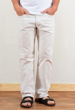 Vintage 90s White Denim Jeans