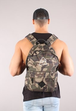 Retro Backpack - Camo
