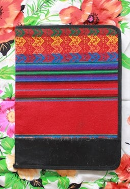 Multi Embroidery 13inch Laptop Case