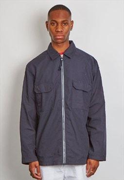Vintage 90's Armani navy blue workman style jacket