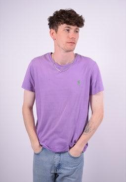 Vintage Polo Ralph Lauren T-Shirt Top Purple