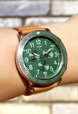 Dark Green Explorer Watch