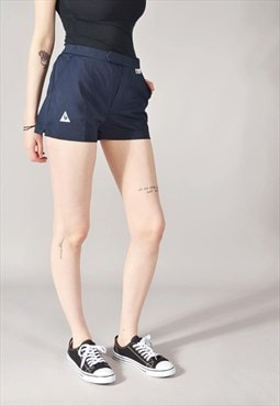 Vintage Le Coq Sportif Sports Shorts Navy Blue