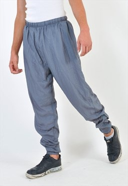 Vintage shell joggers in grey