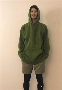 Vintage hoodie green and black