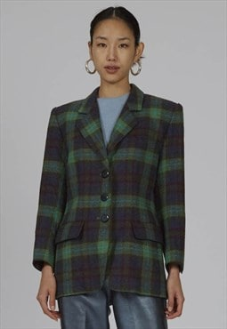 Vintage 80s Yves Saint Laurent Wool blazer