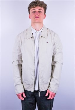 Vintage Tommy Hilfiger Harrington Jacket in Cream