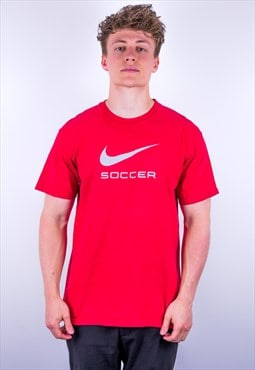Vintage Nike T-Shirt in Red