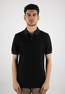 Fred Perry Classic Mono Polo Shirt in Dark Green