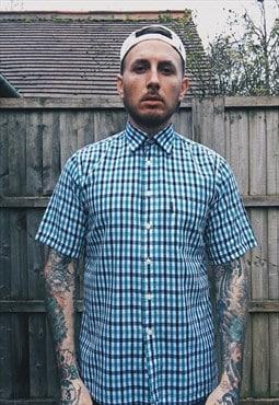 Vintage Aquascutum Green Check Shirt