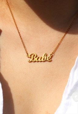 Mei Mi Studio Babe Necklace Gold Plated