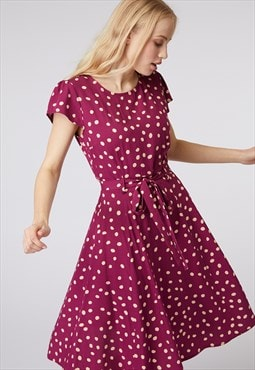 Princess Highway Pink Spotty Dress