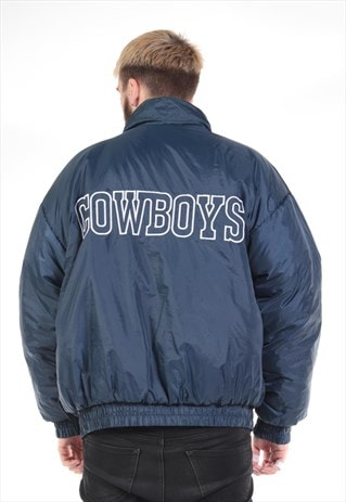 VINTAGE REVERSIBLE DALLAS COWBOYS PRO PLAYER JACKET