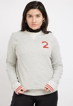 Retro Grey Hollister Sweatshirt