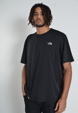 Vintage The North Face Crew Neck T-Shirt Black