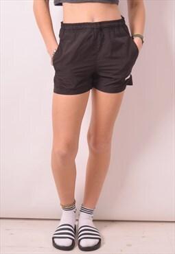 Puma Womens Vintage Shorts Medium Black 90s