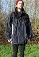 Vintage Reebok Mac Jacket Large Windbreaker Festival Coat