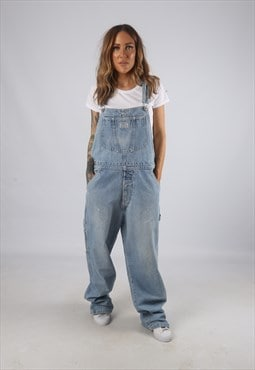 Vintage Denim Dungarees LEVIS Wide Leg UK 16 XL  (H2Q)