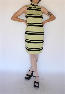 Striped Sleeveless Festival Party Dress
