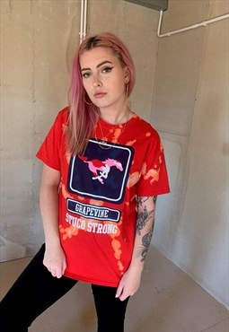Vintage USA Graphic Festival Acid Wash Unisex T Shirt