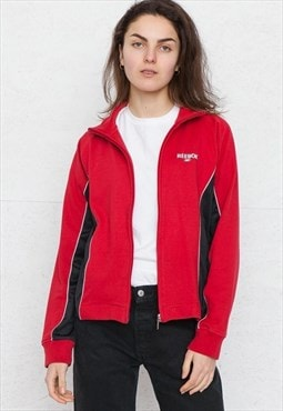 Vintage Red REEBOK Zip Track Jacket