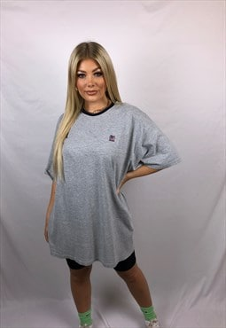Vintage Polo Jeans T Shirt in Grey
