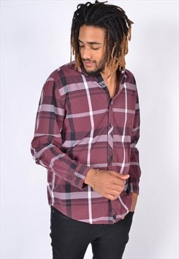 Vintage Levis Check Shirt Red