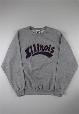 Lee Grey 'Illinois' Sweatshirt