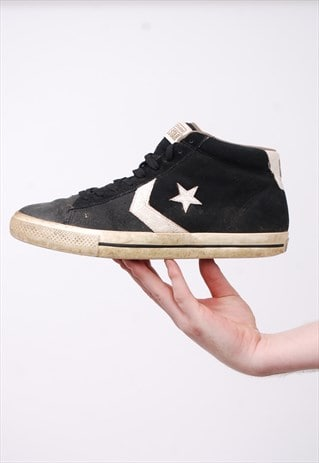 VINTAGE CONVERSE HIGH-TOP TRAINERS