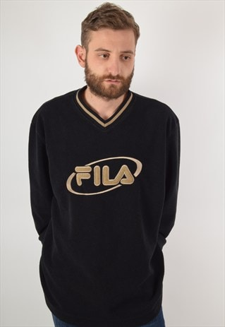 VINTAGE FILA FLEECE MADE IN ITALY SIZE XXL (1839)